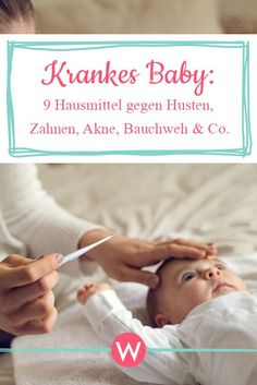 9 Hausmittel gegen Husten, Zahnen, Akne, Bauchweh & Co. Your baby coughs or has a stomachache – we show you 9 home remedies that are guaranteed to help Baby Massage, Massage Bebe, Home Remedy For Cough, Cough Remedies, Home Remedies, Baby Am Strand, Baby Teething Remedies, Baby Cough, Sick Baby