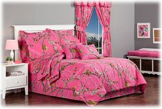 For Niki - Bass Pro Shops Realtree APC Fuchsia Collection Comforter Set | Bass Pro Shops