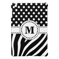 iPad Mini Case Zebra Print