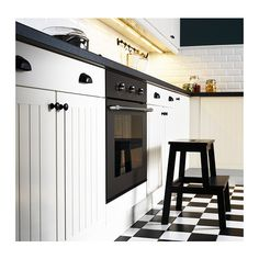 IKEA - BEKVÄM, Step stool, Solid wood is a durable natural material.Hand-hole in the top step makes the step stool easy to move. Kitchen Interior, Kitchen Design, Ikea Canada, Cabinet And Drawer Pulls, Ikea Home, Kitchen Fixtures, Kitchen Items, Kitchen Supplies, Cuisines Design