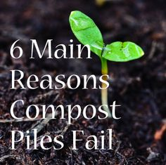 There are six common reasons why compost piles fail, but solutions are easy: www.ruralspin.com