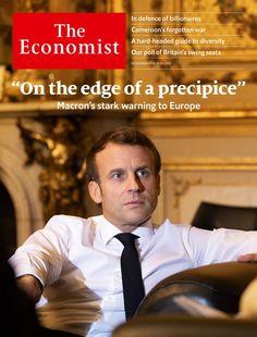 Assessing Emmanuel Macron's apocalyptic vision Elizabeth Warren, Interview, Emanuel Macron, Macron France, Tapas, Press Forward, French People, Continental Europe, French President