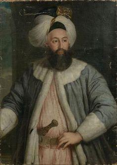 Pierre Gobert - Portrait de l'ambassadeur ottoman Yirmisekiz Tchélébi Mehmed efendi