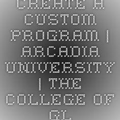 Create a Custom Program | Arcadia University | The College of Global Studies