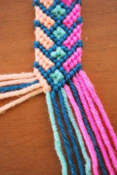 Hey Wanderer: the diy: crazy complicated friendship bracelet