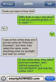 Hahaha. I actually started laughing after reading that!!