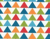 1 Yard Mixed Bag Tee Pee Jamboree Triangles by Studio M for Moda