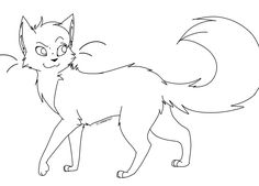 warrior cats squirrelflight coloring pages   21 Best Warrior cat coloring pages images in 2014   Cat ...
