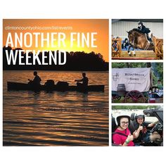 Summer is still here & you can still enjoy! This weekend:  *Southern Ohio Quarter Horse Show at Roberts Arena  * Chuck Wagon Dinner Ride at Bonnybrook Farms  * MVSCCA Racing at Wilmington Air Park  * Boat, hike & swim at Cowan Lake State Park  * Clinton County Farmers Clinton County Farmers' Market at Main Street Wilmington   http://clintoncountyohio.com/list/events  #visitclintoncounty #Ohio #horseshow #soqha #rides #campfire #smores #soloracing #myohioadventure