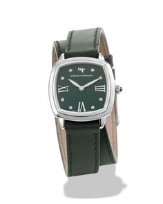 fdba0cee819 David Yurman Albion Leather Swiss Quartz Watch