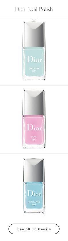 """Dior Nail Polish"" by madim13 ❤ liked on Polyvore featuring beauty products, nail care, nail polish, bleuette, christian dior nail polish, gel nail color, gel nail polish, christian dior, nails and beauty"