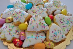 Scarcelle di Pasqua Biscotti Cookies, Plum Cake, Paella, Allrecipes, Christmas Cookies, Biscuits, Cereal, Deserts, Food And Drink