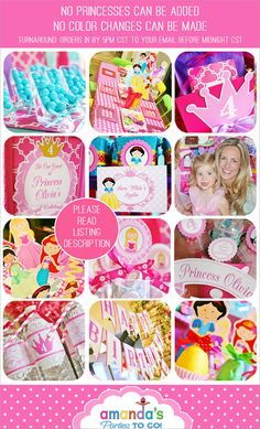 girl under the sea party decorations printable under the sea