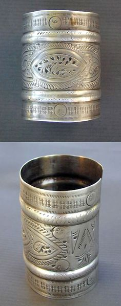 Tunisia | Silver bracelet with two libyan hallmarks | Early 20th century | 250$