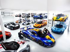 Here are 12 visions of McLaren perfection, with so many colors to choose from.