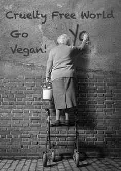 Cruelty Free World ~ best granny ever