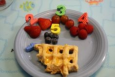 Fun with Counting During Meal Time