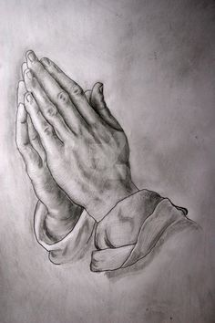 Albrecht Durer's Praying Hands by juelleann