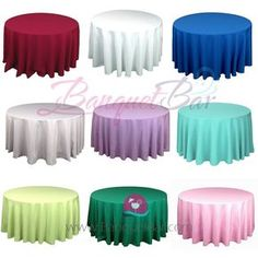 Superior Polyester Tablecloth For Wedding,Banquet Polyester Table Covers Spandex  Cocktail Table Covers,Stretch Chair