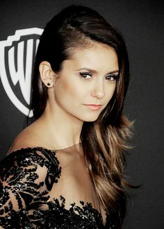 Nina Dobrev attends the 2015 InStyle And Warner Bros. 72nd Annual Golden Globe Awards Post-Party.