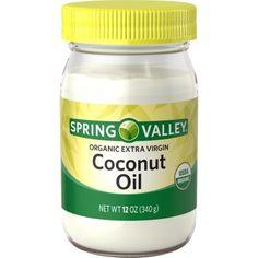 $10.00 - Spring Valley Organic Extra Virgin Coconut Oil, 12 oz