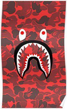 Iphone wallpaper swag tumblr 148 wallpapers bape wallpapers bape wallpaper iphone - Camo shark wallpaper ...