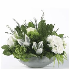 Spring 2018 New Product Picks - Products and trends at the High Point Market Dining Table Decor Centerpiece, Round Table Centerpieces, Silk Flower Centerpieces, Summer Centerpieces, Greenery Centerpiece, Easter Table Decorations, Table Flowers, Winter Floral Arrangements, Easter Flower Arrangements