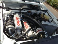 The 2.2 litre, 5 cylinder engine from an Audi quattro