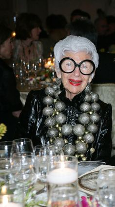 You need gonads to wear this necklace ... but then again...maybe that's what the necklace is made of!!! ;) - <3 it!!   Iris Apfel Jewelry