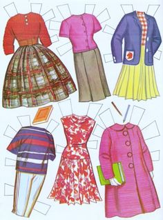 Paper Dolls~Tammy - Bonnie Jones - Picasa Webalbum * 1500 free paper dolls from artist Arielle Gabriel The International Paper Doll Society for Pinterest paper doll pals *