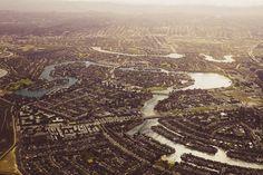 Urban sprawl - Foster City, CA