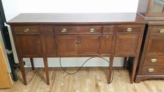 Antique Buffet and china cabinet and more