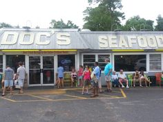 Doc's Seafood Shack & Oyster Bar - Orange Beach, AL  These 10 Restaurants In Alabama Have The Best Seafood EVER
