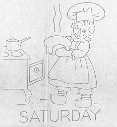 Raggedy Ann-Saturday