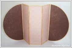 Mariannes papirverden.: Tutorial - folding card.
