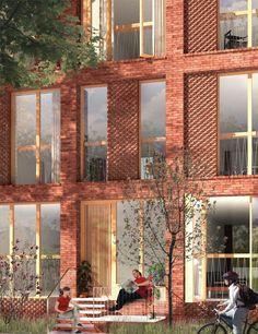 Social housing, Copenhagen by Leth & Gori . Powerhouse Company