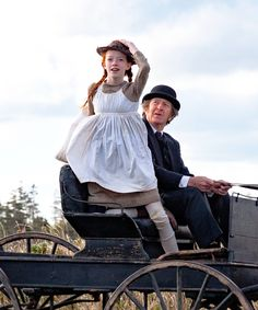 They're wrong it's beautiful and moving. It isn't all lace and doilies and the portrayal of Anne is much more true to the book.  Anne with an E and Matthew Cuthbert out for a ride.