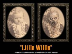 Little Willie Spooky Halloween Changing Photo