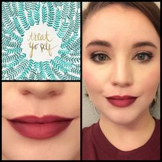 I love a bold lip! I especially love an ombré lip! Here I'm wearing LimeLights Enduring Lip Color in shades Sugar Plum and Creme Brûlée.  #limelightwithheatherh #limelight #financiallyfree #workfromhome #boldlips #ombrelips  #stayathomemom #stayathhewife #makeup #plum