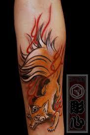 Resultado de imagen de kitsune tattoo