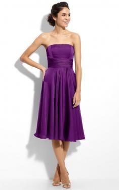 Purple Bridesmaid Dresses, Cadbury Purple, Queenie Bridesmaid