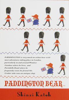 Paddington Bear by Shinzi Katoh