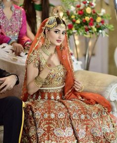 sajal ali Pakistani Bridal Wear, Pakistani Outfits, Bridal Lehenga, Pakistani Clothing, Dress Makeover, Beautiful Pakistani Dresses, Sajal Ali, Desi Bride, Weeding Dress