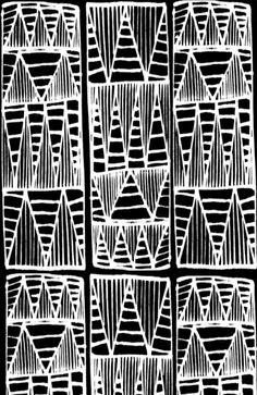reversed triangle pattern.    by Rachelgloria