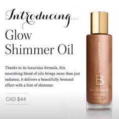 Glow Shimmer Oil available in Canada now!  www.beautycounter.com/en-ca/melaniehouston or www.beautycounter.com/melaniehouston