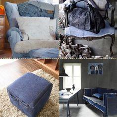 19+ kreativních nápadů jak vytvořit překrásné dekorace z obyčejncýh starých džínů! | Vychytávkov