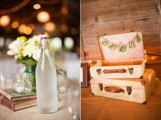Barn wedding decor |Pinned from PinTo for iPad|