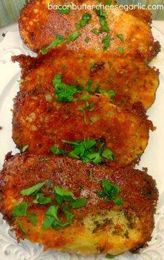 Parmesan Crusted Potatoes