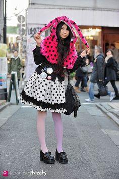 Polka dots in Harajuku