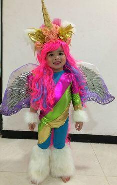 Disfraz de unicornio niña Costumes Couture, Halloween, Harajuku, Style, Fashion, Tutus, Costumes, Swag, Moda